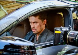 Diman Bilan in the film shoot for his single Dotyanis (Reach)