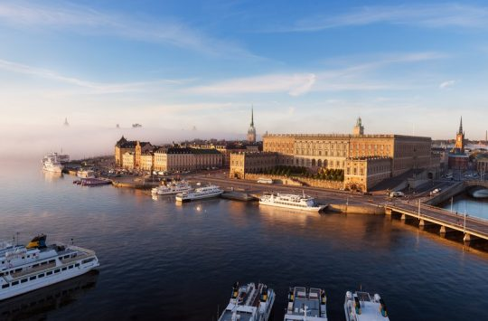 View of the Royal Palace Stockholm