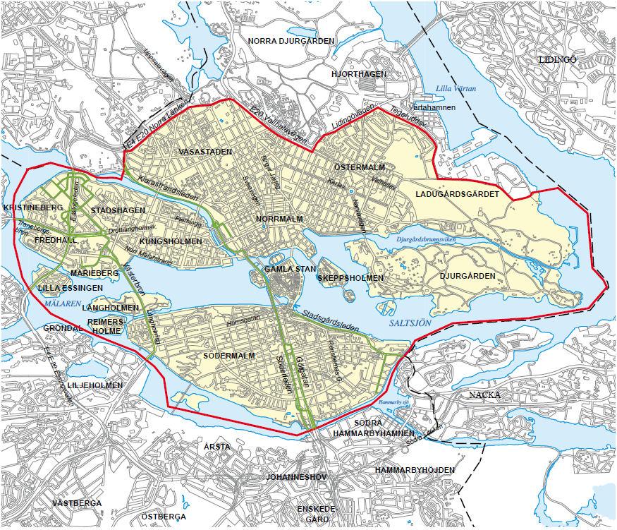 SE stockholm map