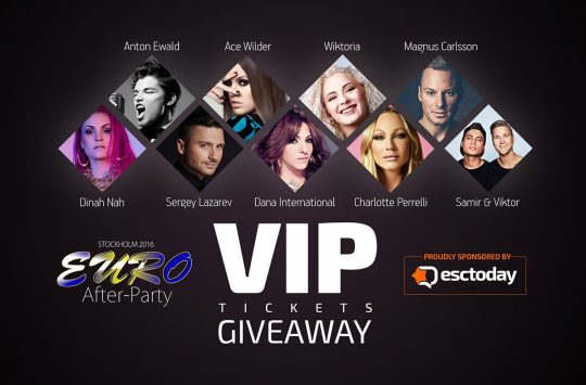 Euro After Party 2016 Competition
