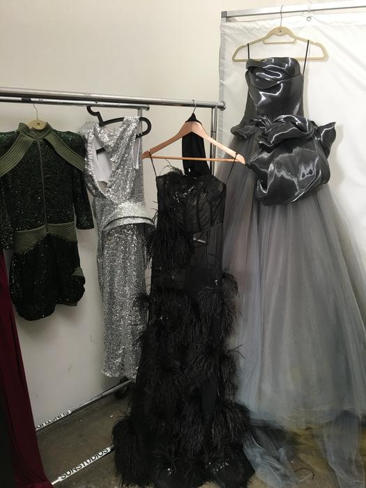 A few of Dami Im's costume choices for the Eurovision Song Contest