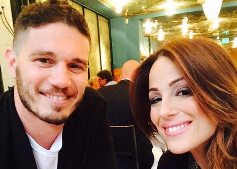 Ira Losco and her boyfriend Sean Gravina