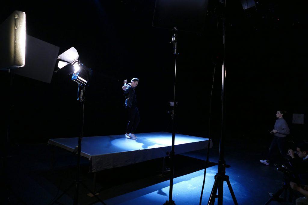 Hovig Gravity video shoot 2